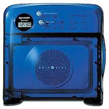 sharp half pint microwave oven. amazon.com: sharp r-120db half pint microwave oven, blue: compact ovens: kitchen \u0026 dining oven m