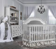 evolur julienne 3 piece nursery set in antique grey mist crib dresser and hutch