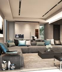 Lounge Living Room Scda Mixed Use Development Sanya China Show Villa Type 1