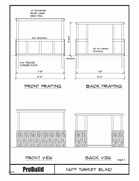 appealing deer shooting house plans pictures exterior ideas 3d regarding 4x8 shooting house plans