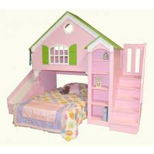 cool kids beds with slide. Wonderful Kids Marvelous Kids Bed Slide Cool Bunk Beds With  Dollhouse  Shown Optional  In E
