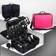 pro makeup partment bag travel bag makeup organizer hair tools storage