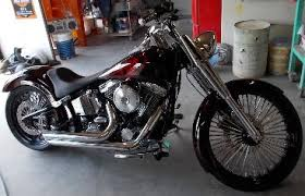 2013 Harley Davidson With Airbrushed Artwork Painted In White, Silver And  Black Only.