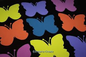 Large Butterfly Foam Shapes Bulk 60 Inspire Create