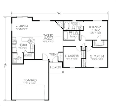 small 1 story house floor plans one single level unusual idea full size