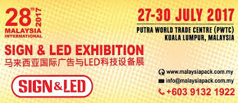 Small Picture 28th Malaysia International Sign LED Exhibition 2017 July 2017