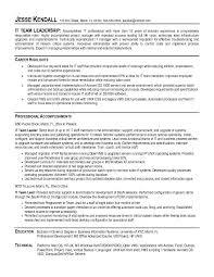 Download Leadership Resume Ajrhinestonejewelry Com