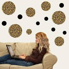 best leopard print wall decal products