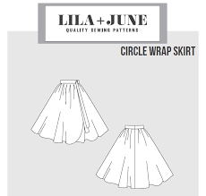 Wrap Skirt Pattern New Wrap Skirt Pattern Lila June