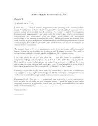 doc recommendation letter format sample letter of standard personal letter format best template collection recommendation letter format sample