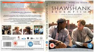 the shawshank redemption r blu ray dvd cd label dvd  the shawshank redemption 1994 r2 blu ray dvd cd label dvd cover front cover