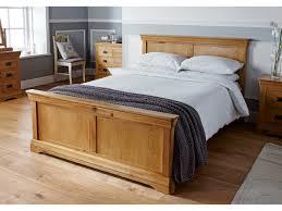 Oak Bedroom Farmhouse Country Oak Large 5 Foot King Size Bed