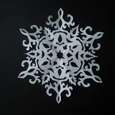 Paper Cutting Patterns Fascinating How To Make Paper Snowflake 48 Beautiful Snowflake Pattern For