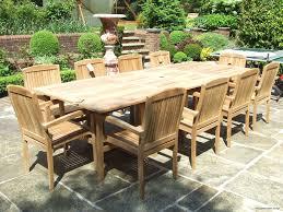teak patio furniture amp outdoor garden furniture chic teak intended for outdoor furniture dining table plan