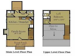 >beautiful small cabin plans with loft house plan and ottoman  small cabin floor plans