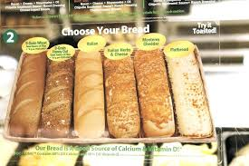 subway flatbread nutrition a review of subways bread selection