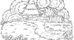 Coloring Pages Forest Animals Forest Animal Coloring Pages Sheemcity
