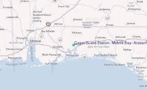 Coast Guard Station Mobile Bay Alabama Tide Station