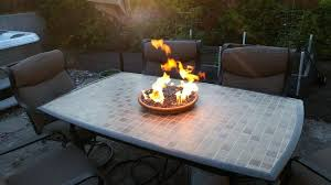 diy propane fire pit propne bckyrd homemade table ideas plans diy propane fire pit