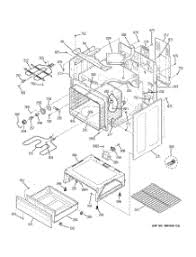 parts for ge jbp68dm2ww range appliancepartspros com 03 body parts parts for ge range jbp68dm2ww from appliancepartspros com