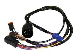 cdi engine wiring harnesses marine engine parts fishing tackle wiring adapter harness for johnson evinrude 1996 up outboards 176349