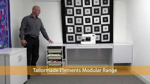 Tailormade Sewing Cabinet Tailormade Cabinets Youtube