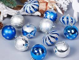 Hand Decorated Christmas Balls Hand Painted Christmas Balls Mixture Design Leaf Star Onion 21