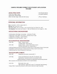 Resume Sample Personal Information Personal Background Resume Sample Awesome Stage Manager Resume 23