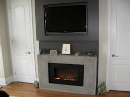 corner electric fireplace with mantel