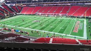 Mercedes Benz Stadium Section 232 Atlanta Falcons