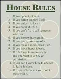 House Rules For Roommates Template House Rules For Roommates Example Google Search House