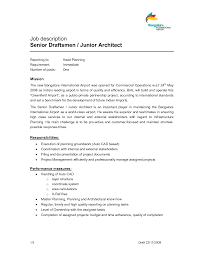 Architectural Draftsman Architect Resume Eliolera Com