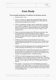 business case study examples   sop examples Tes       Canned answer