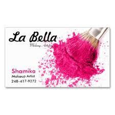 la bella salon makeup artist business card s unveil business card for a