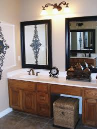 Decorating Bathroom Mirrors Cute Double Vanity Bathroom Mirrors Formidable Inspirational