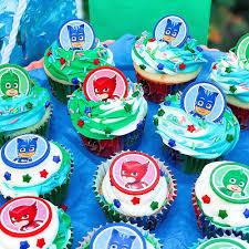 Pj Masks Cupcake Decorating Kit 176oz Party City