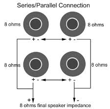 wiring speakers parallel car wiring diagram download cancross co 8 Ohm Speaker Wiring Diagrams legendary tones all about ohms wiring speakers parallel series parallel connection 8 ohm speaker wiring diagrams