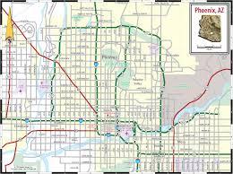 map of phoenix az area  map phoenix az area (arizona  usa)