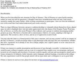 Bret Weinsteins Letter To Rashida Evergreen State College Racism