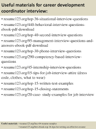 ... 12. Useful materials for career development ...