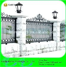 simple wrought iron fence. Iron Fence Designs Wrought Fences And Gates Elegant  Models Of . Ideas Simple