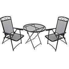 folding patio furniture set. impressive folding patio table set wrought iron furniture e