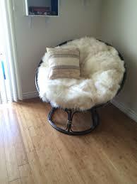 diy papasan chair cushion it s so fluffy