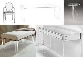 Lucite Desk | Plexiglass Tables | Lucite Acrylic Chairs