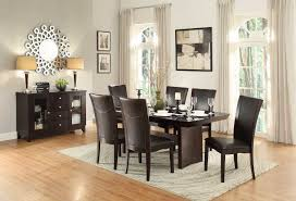 daisy dining set table homelegance daisy dining table with glass insert collection