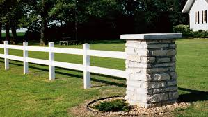 Vinyl Two Rail Fence Style Kearney Nebraska