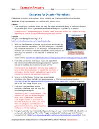 Objective Questions On Earthquake Resistant Design Of Structures Designing For Disaster Worksheet Example Answers