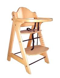 wooden restaurant high chair with tray wooden high chair for es