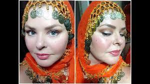 belly dancer gypsy makeup tutorial