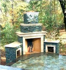 exterior fireplace designs outdoor patio ideas with